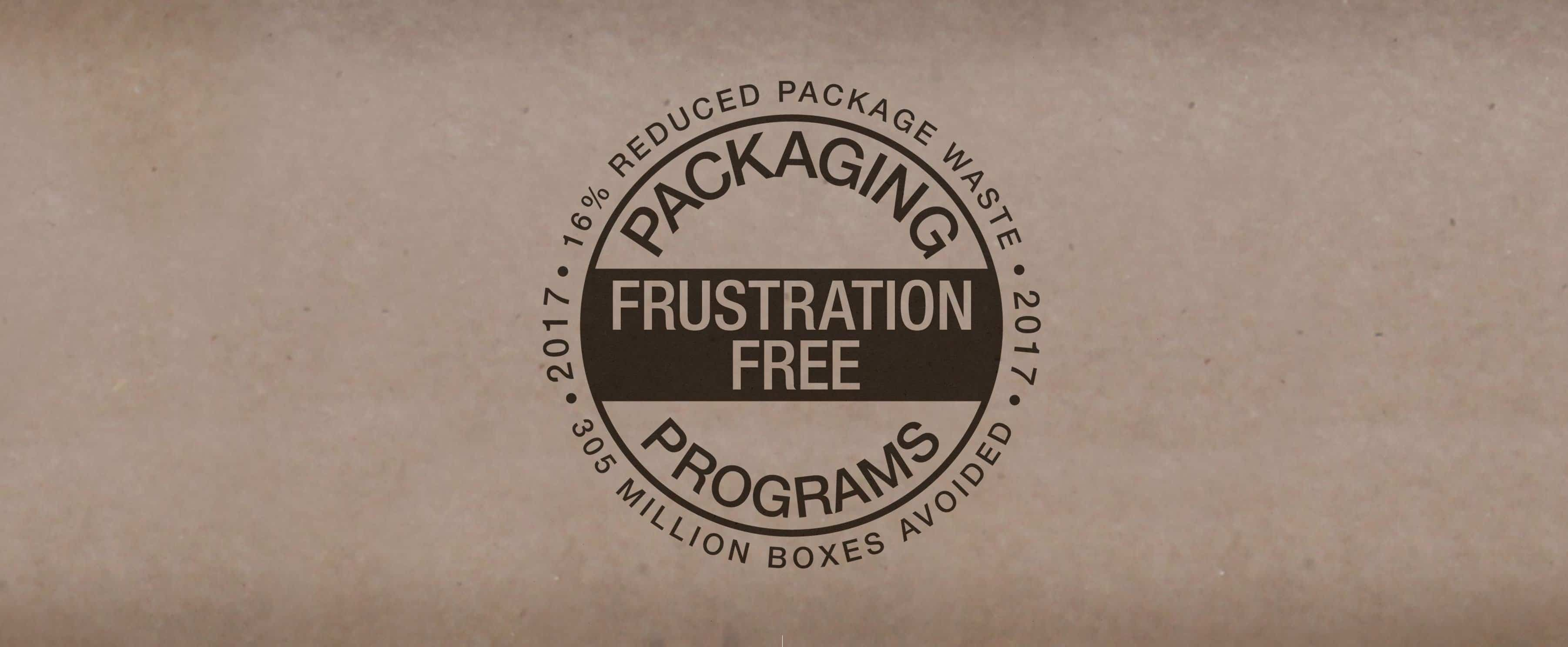 frustration free packaging logo