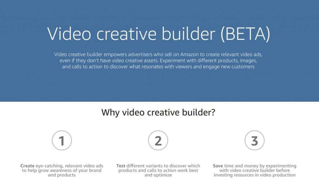 Amazon Video Creative Builder