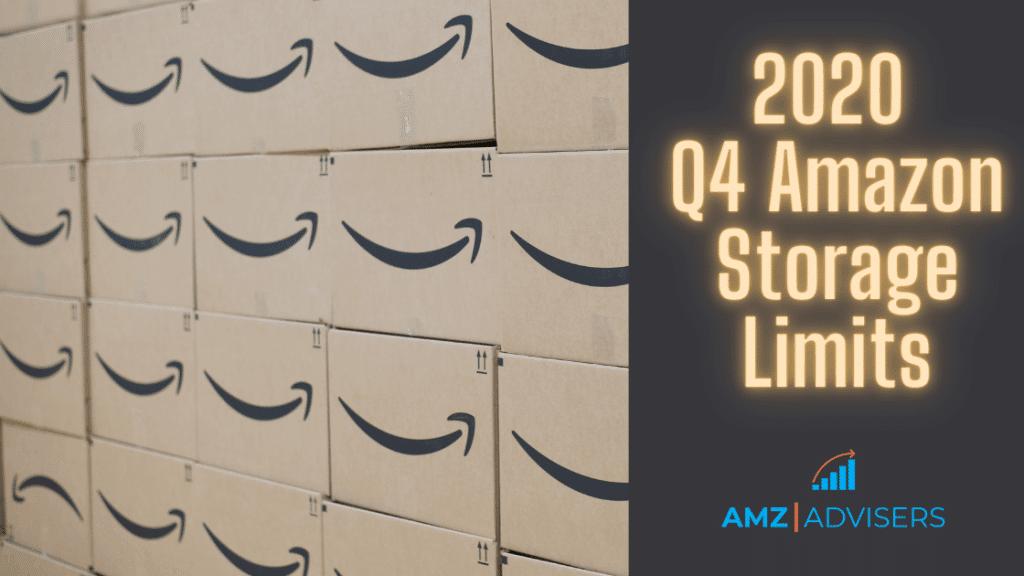 Límites de almacenamiento de Amazon del cuarto trimestre